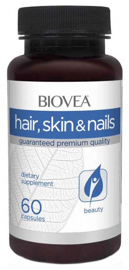 BIOVEA Skin Hair Nails (60 кап)