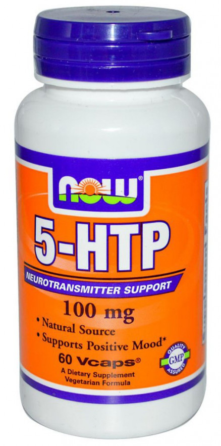 NOW 5-HTP (100 мг) 60 кап