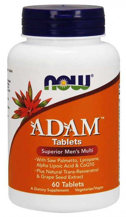 NOW Adam Mens Multivitamin (60 таб)