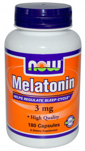 NOW Melatonin 3 мг (60 кап)