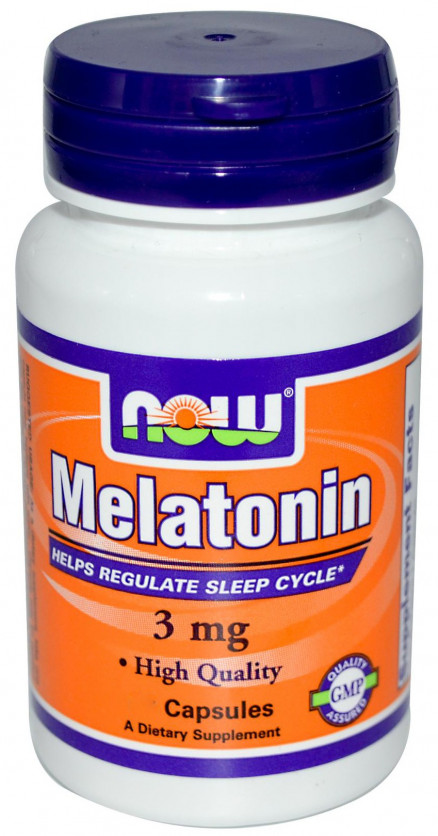 NOW Melatonin 3 мг (90 таб)