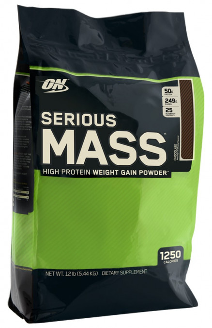 Гейнер Optimum Nutrition Serious Mass 12lb (5455 г)
