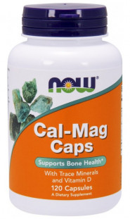 NOW Cal-Mag Caps (120 капсул)