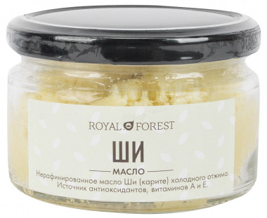 Royal Forest Масло Ши (карите) 150гр