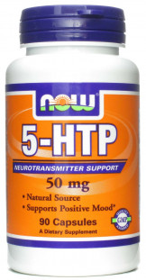 NOW 5-HTP (50 мг) 90 кап