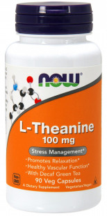 NOW L-Theanine 100 мг (90 кап)